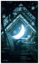 lune tombée