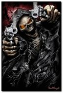 Reaper with guns