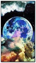 Luna parpadeante