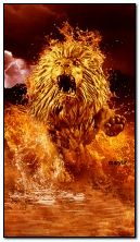 Sư tử bốc lửa
