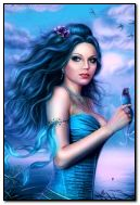 fantasi gadis cantik