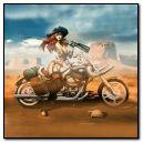 幻想女孩骑自行车