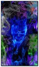 Блакитний череп