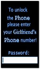 to unlock phone please enter your girl friend phone no animated