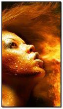 Płonąca twarz