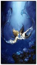 tình yêu dưới nước.