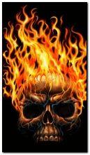 Crâne de feu