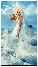bride from the ocean