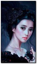 Gadis fantasi yang cantik