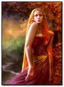 Chica de fantasia