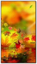 fantasy autumn elf