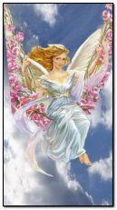 Angel in swing