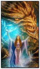 Cô gái và rồng