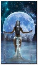 चंद्रमा की कल्पना