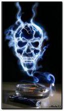 Kafatası-duman