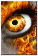 ánh mắt rực lửa