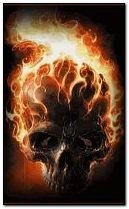 fire skull 240x400