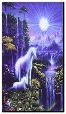 waterfall and Unicorns