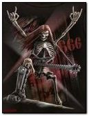 Heavy Metal Skull