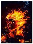 Cô gái bốc lửa