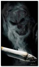 Cigarette smoke death