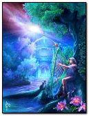 harpe de fantaisie