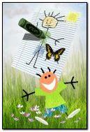 desenho de primavera