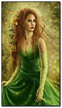 déesse de l'automne