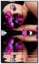 kecantikan ungu