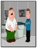 Family Guy meet Star Trek