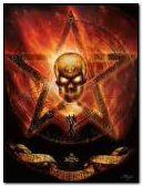 skull pentagram
