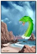 Sea Dragon : 240 x 320 Animated