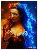 Fire lady