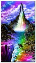 Fantasy Waterfall