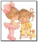Baby Ballerina & Clown