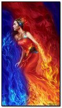 La ragazza in fiamme