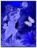 niebieski fantastyczny