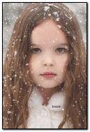 Enfant d'hiver mignon