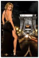 Budapest. gadis cantik di Hongaria