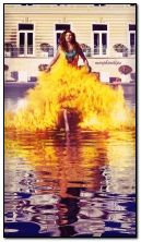 Vestido de fogo