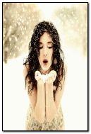 winter lady.