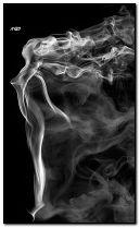 fille fumée