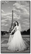 पॅरिस मध्ये वधू