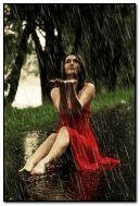 yağmuru severim
