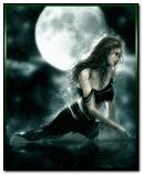 dark woman