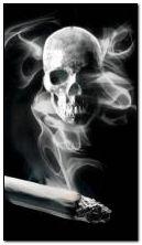Crâne de fumée