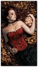 Gotisches Mädchen
