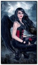 готический ангел