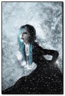 gothic beauty at snow
