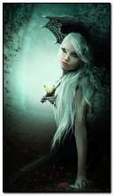 Gothic blonde